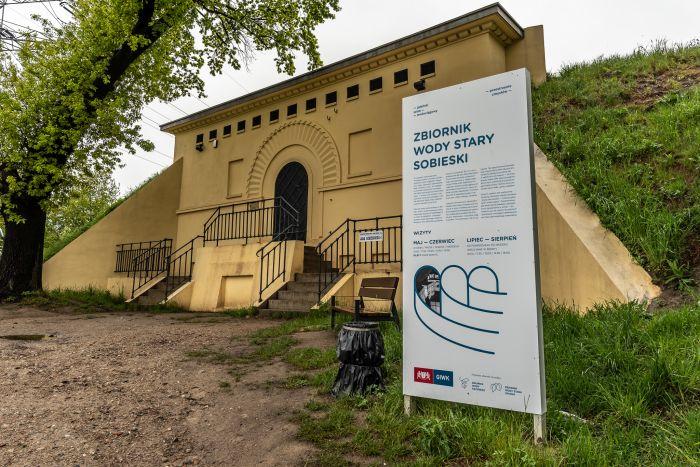 ZBIORNIK WODY STARY SOBIESKI || FOT. DAWID LINKOWSKIO || GIWK